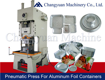 80T Aluminum Foil Pneumatic Punching/press Machine