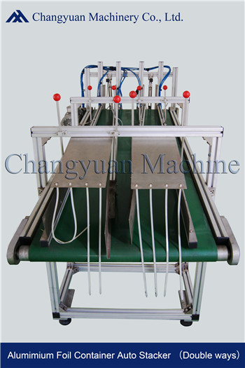 Semi Automatic Aluminium Foil Production Line Conveyor