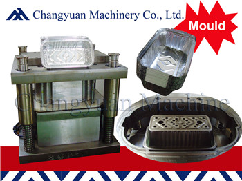 Aluminium foil  Tray Making Machine mould