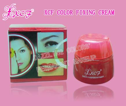 XCF color fixing cream/healing products/permanent lip/tattoo training school