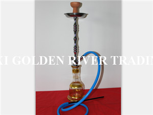 high quality fashion design Aluminum large/medium Stainless steel Shisha