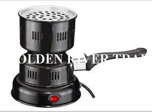 Electric coal starter for shisha coal burner