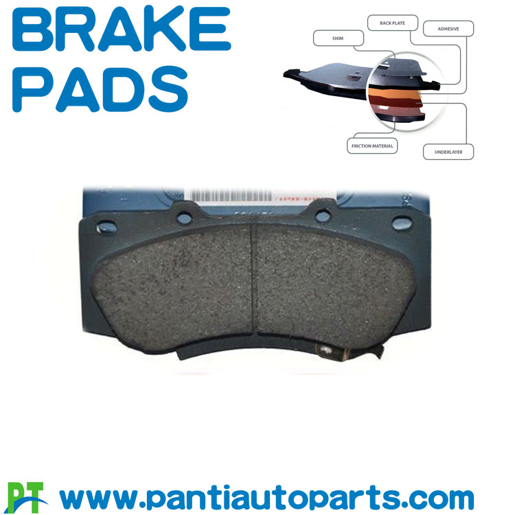 Brake pads for Toyota Hilux  04465-OK280