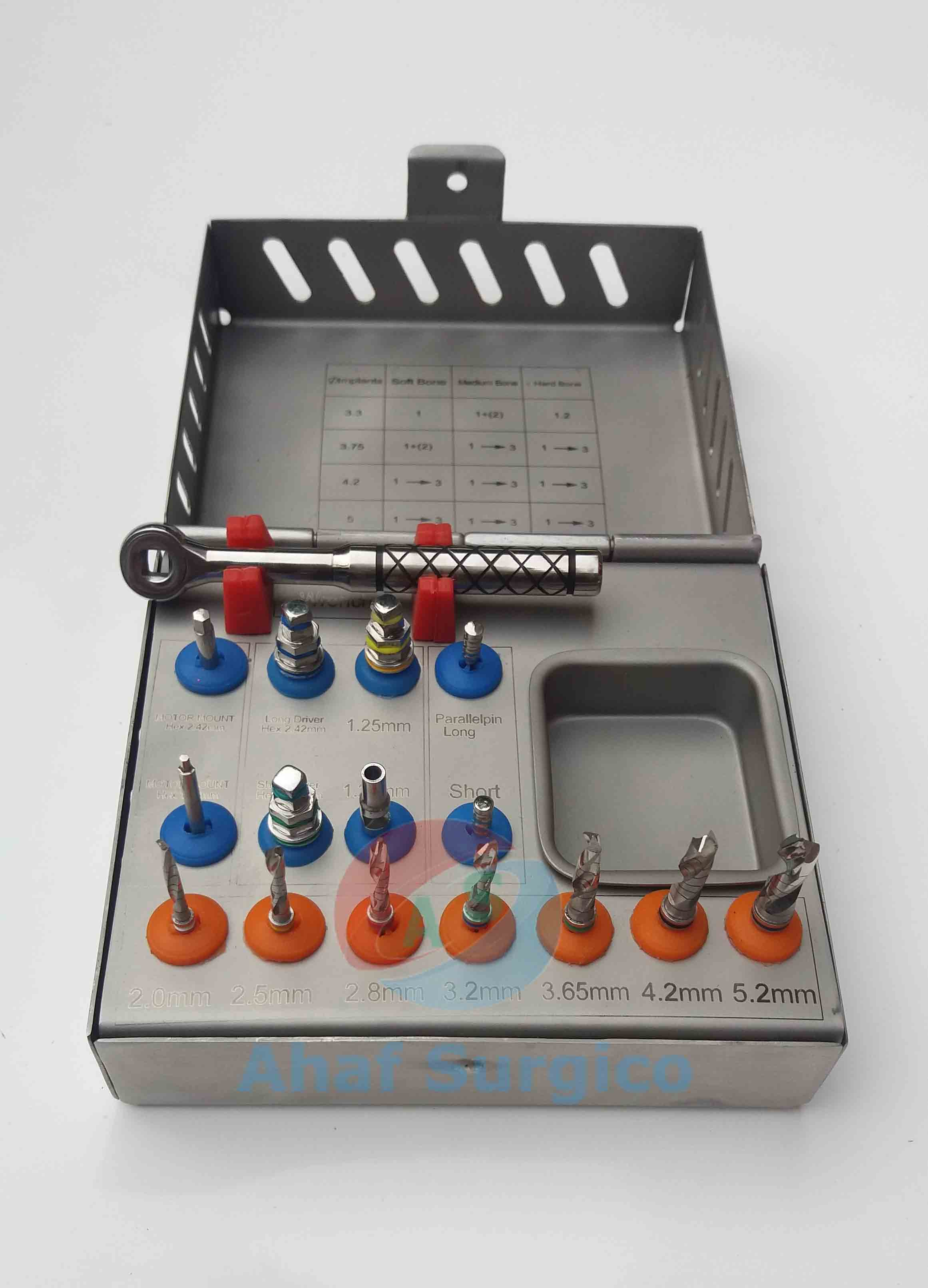 Surgical Drill Kit Dental Implant