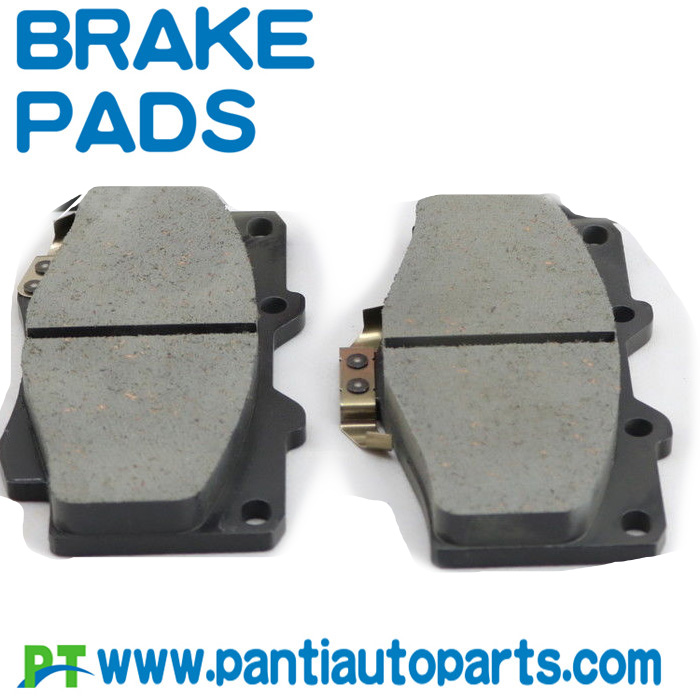 brake pad manufacturers supply 04465-yzz57 for toyota hilux