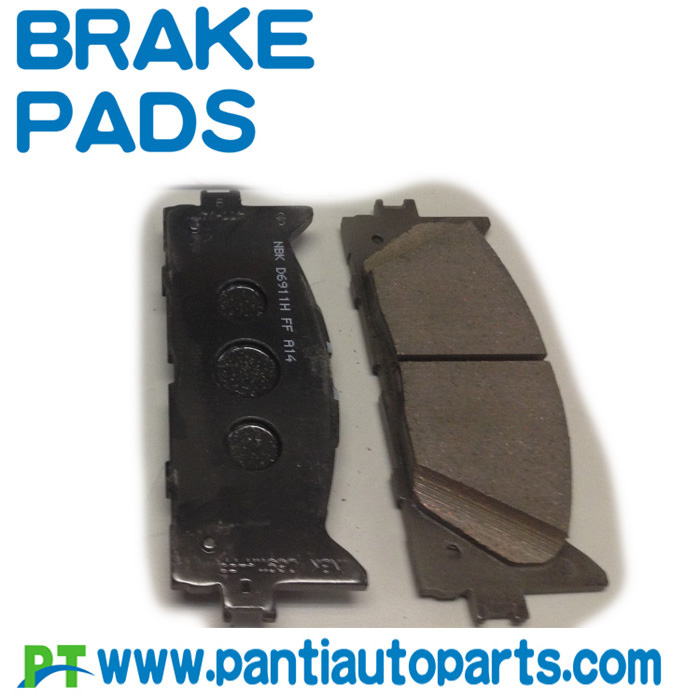 top quality sintered brake pad for toyota 04465-07010