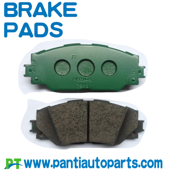 Toyota Genuine Parts 04465-42160 Front Brake Pad