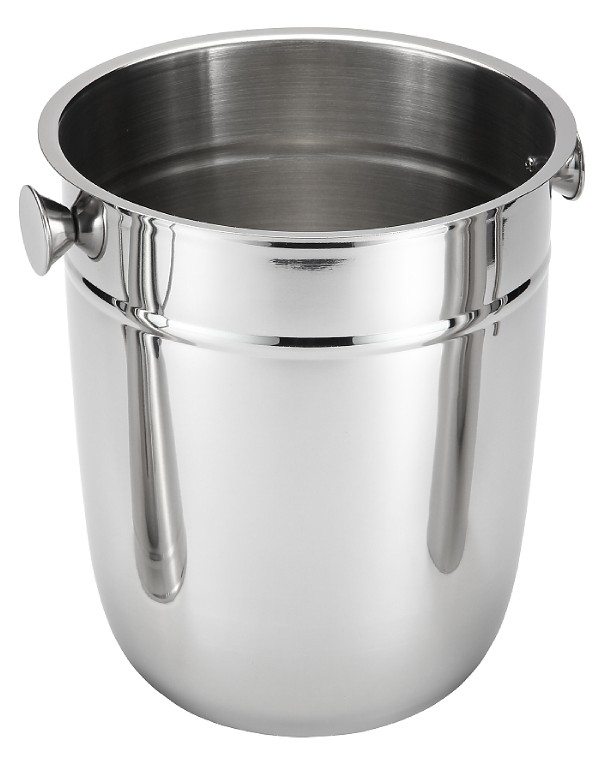 Stainless Steel Ice Bucket with Stand/Large Champagne Ice Bucket for Bar