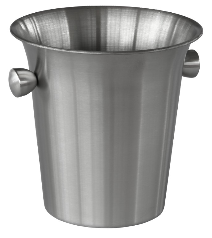 stainless steel ice bucket with handle wine ice bucket