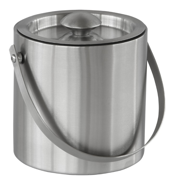Stainless Steel Double wall Cooler Ice Bucket with lid
