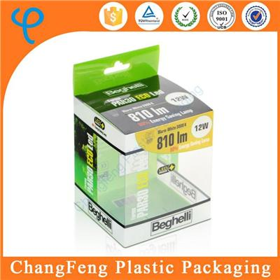 House Ware Bulb LED Box Packaging PVC Clear Plastic Boxes for Packing