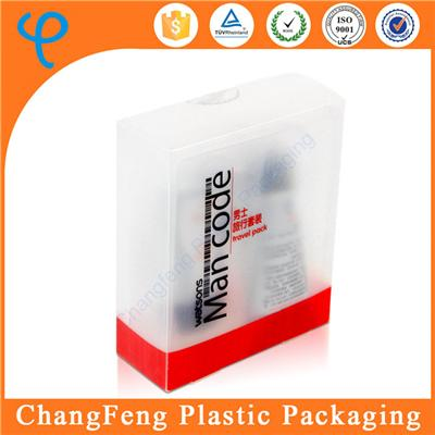 Factory Direct Beautiful PP Plastic Makeup Packaging Box with Clamshell Packing