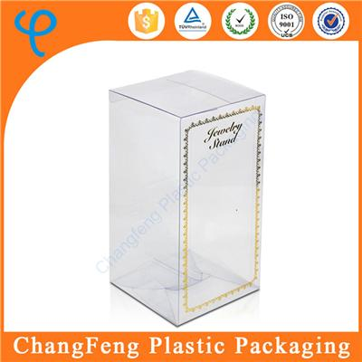 Custom Packaging Clear Plastic Wine Gift Box Suppliers