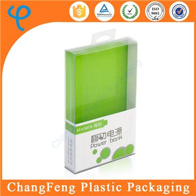 Plastic Style Recyclable Packaging High Quality Clear Plastic Power Bank Box