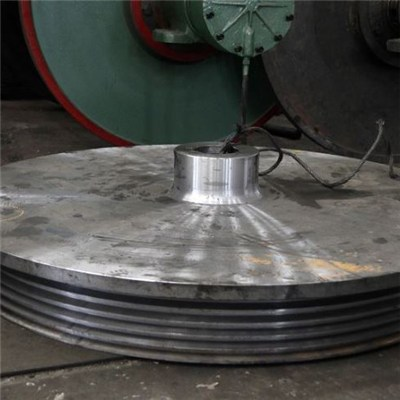 Friction Disk Carbon Steel Sand Castings For Forging Machine