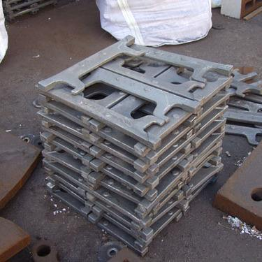 Heat Resistant Grate Bar And Grid Section Alloy Steel Casting For Sintering Machine