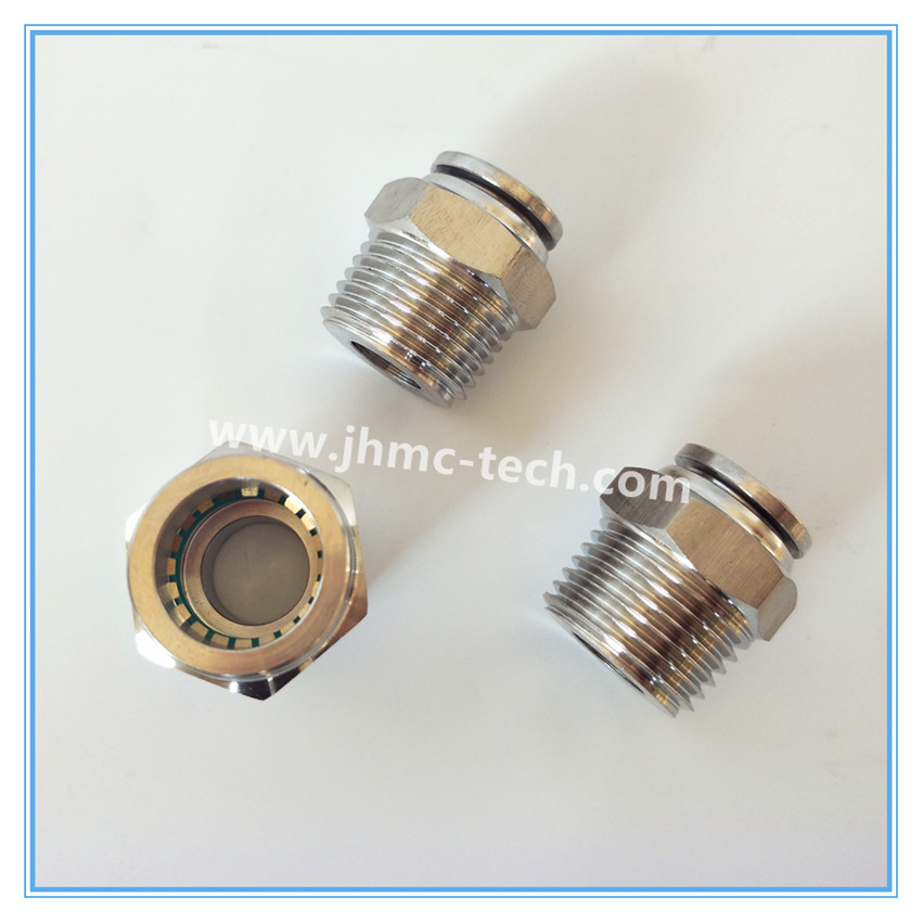 Stainless Steel Straight Male Pneumatic Fittings