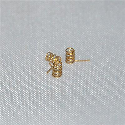 Phosphor Copper Gold-plating Spring For Conductive Terminal Of Mini Earplug Manufacturer