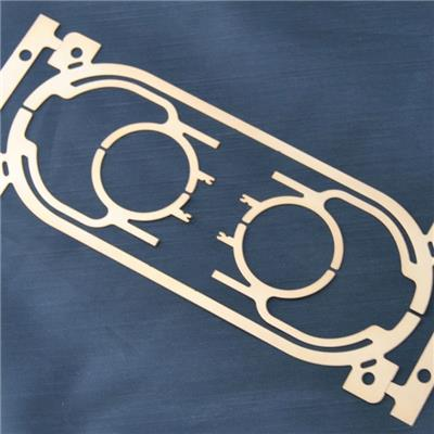 Custom Brass Stamped Factory For Vibrating Reed Parts Of Speaker Box