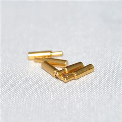 Nickel And Gold Plating 10A Flat Type Pogo Pin For Moblie Phone
