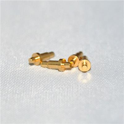 4A Electric Current Gold-plating Brass Pogo Pin Suppliers