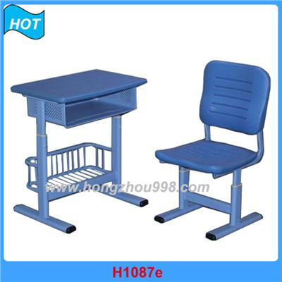 H1087ae Ergonomic Student Desk And Chair Set