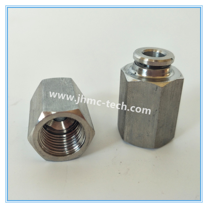 Stainless Steel Straight Female Pneumatic Fittings