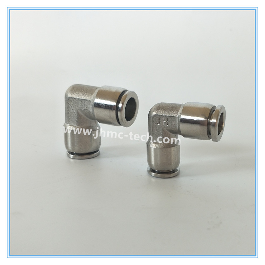 Stainless Steel Union Elbow Pneumatic Fittings