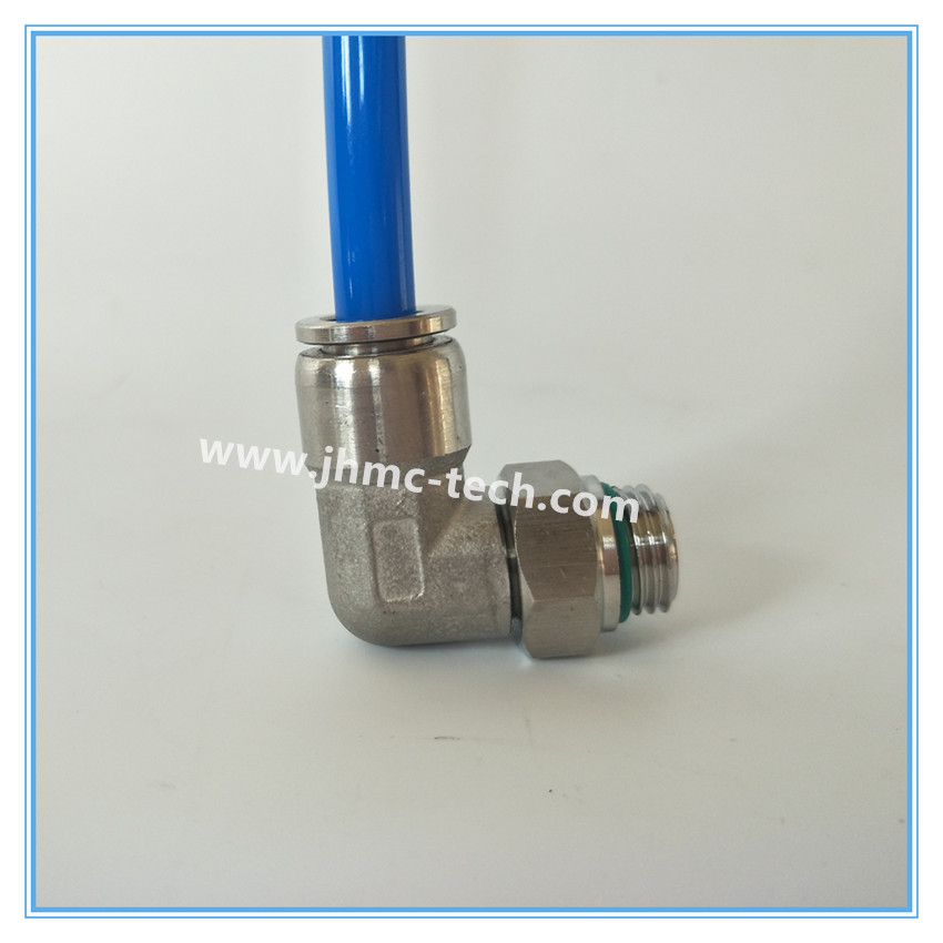 Stainless Steel G thread Elbow Male Pneumatic Fittings