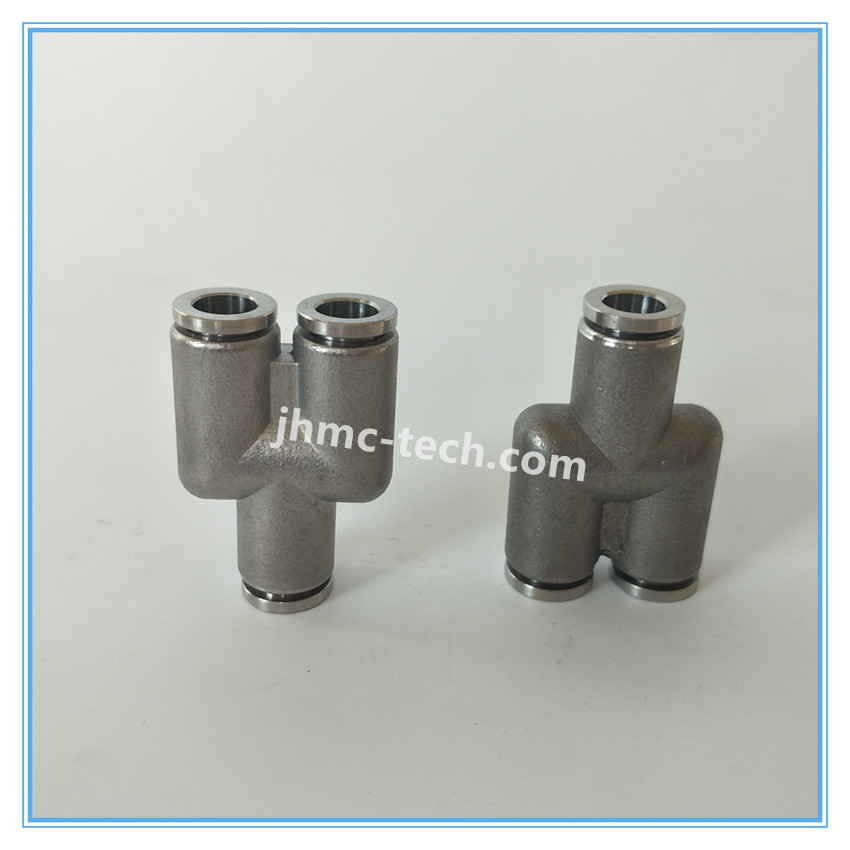 Stainless Steel Union Y Pneumatic Fittings