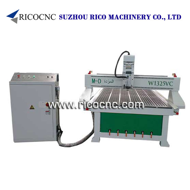 3D Wall Panel Cutting Machine Wood Door Processing Machine Wood CNC Router Machine W1325v