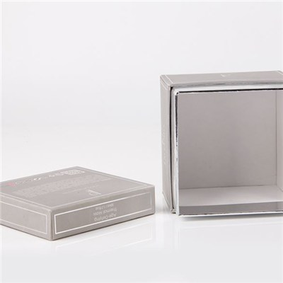Square Paper Gift Box With Lid Making