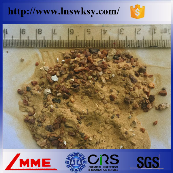 Metallurgy grade sintered magnesite with MgO 96% 97% for stainless steel