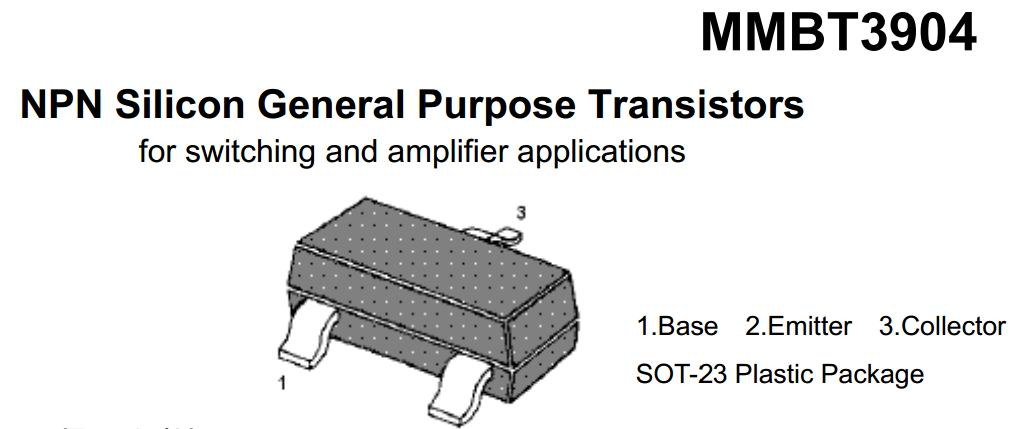 Silicon General Transistors MMBT3904
