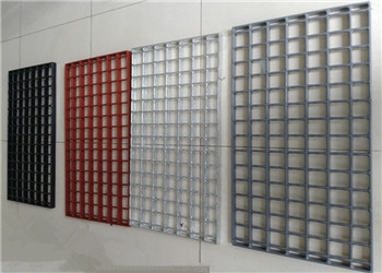 Anti-rust painted walkway steel gratings for paper-making machinery