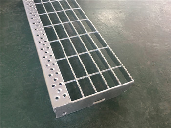 T8 Type  staircase bolted fixing with Perforated Nosing