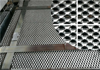 Steel grating with expanded Metal wire mesh safety net
