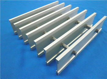 Swaged aluminium I bar gratings made in China/Chinese manufacturer