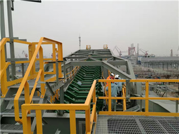Angle Iron Industrial Handrails for maintance platform