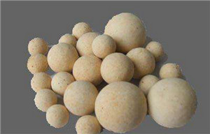 Hot Blast Stove Refractory Pressed High Strength Low Creep Mullite Alumina Ball