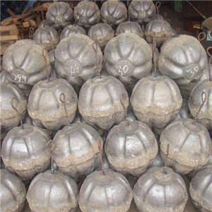 Converter refractories BOF refractory Slag Limiting Ball  Slag Arrester