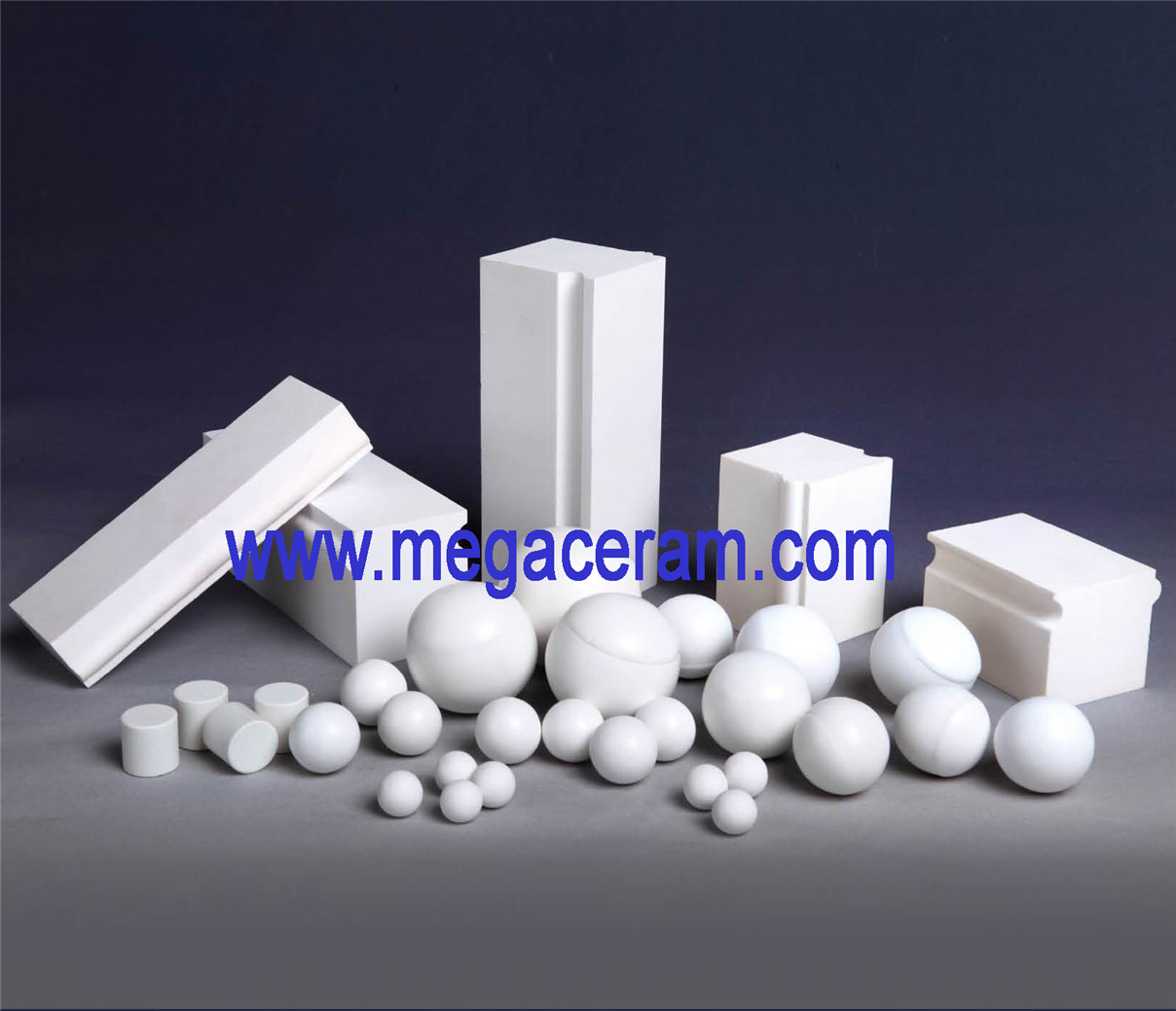 Chinese 68-92%Alumina liner and brick supplier for ceramic, cement,refractory,chemical, mine etc.