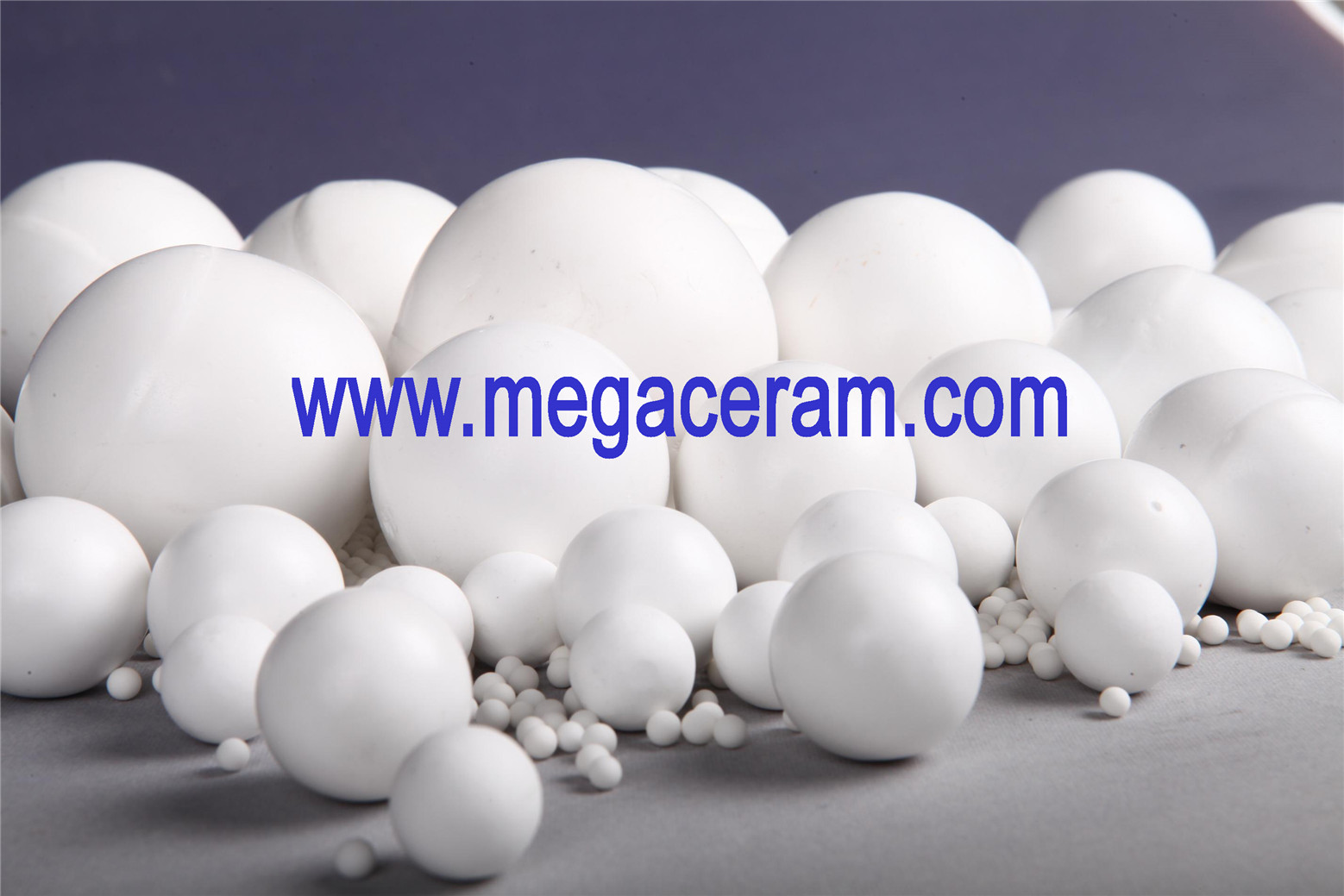 Alumina packing ball for chemical industry