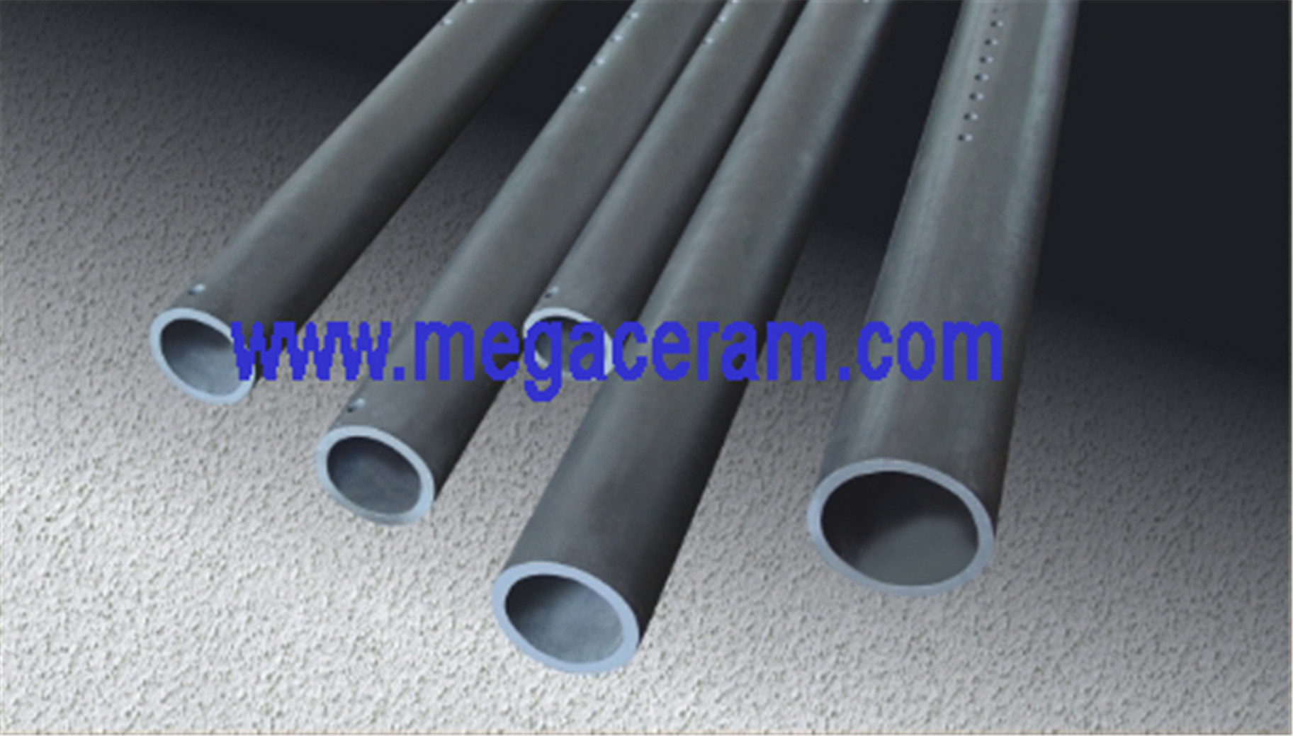 Chinese (Reaction Boned Silicon Carbide /RBSIC) SISIC Cooling air pipe supplier