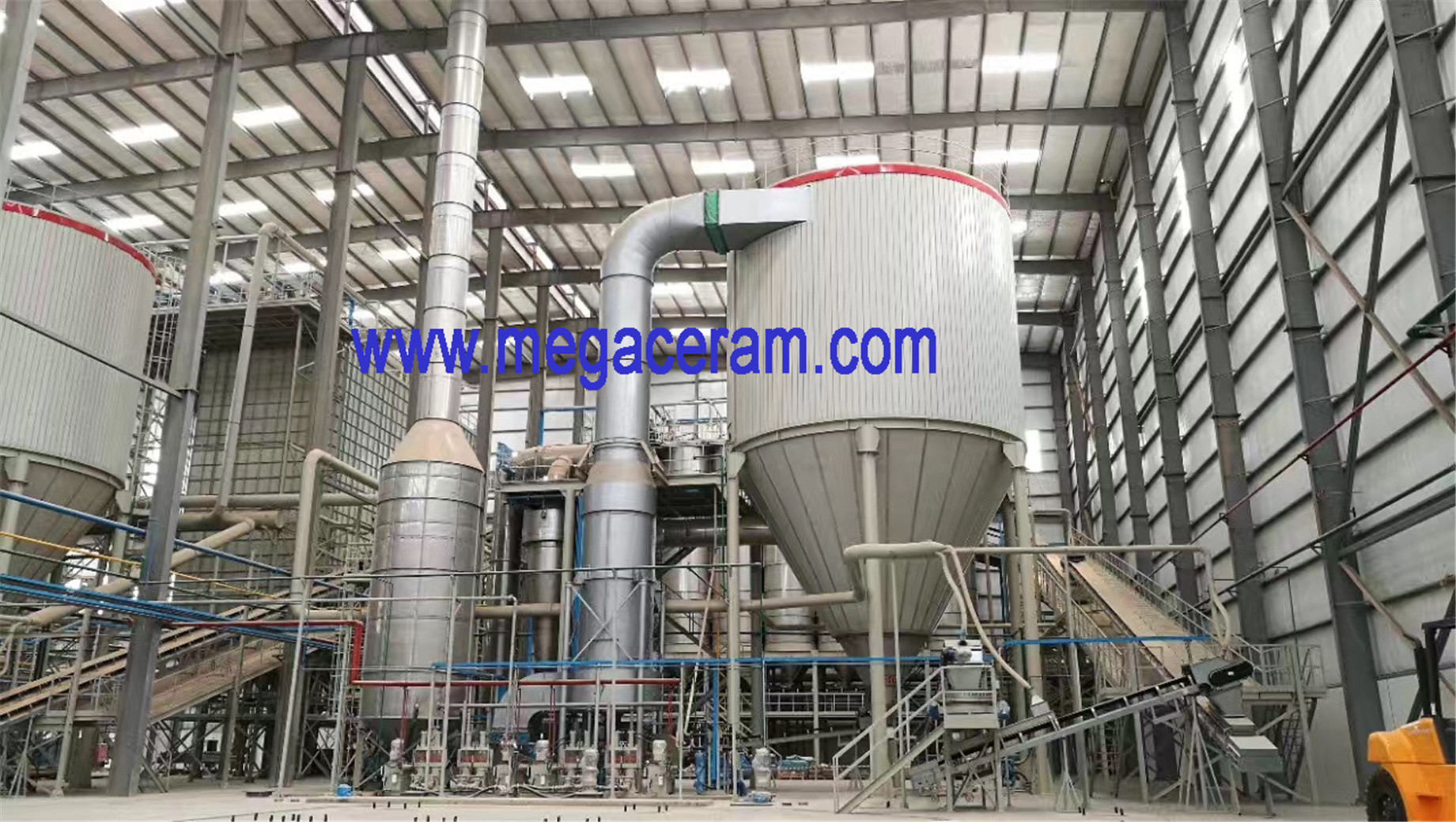 Chinese Spray dryer manufacturer for ceramic tile, tableware and electric ceramic industry