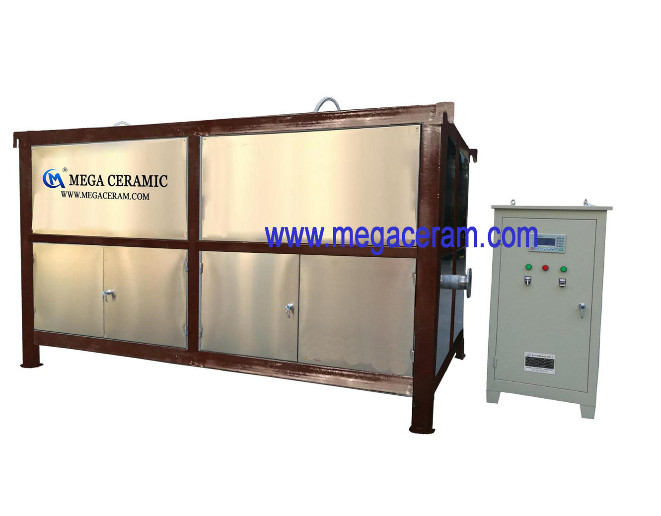 Automatic slurry/powder permanent magnetic iron remover manufacturer for ceramic,mine