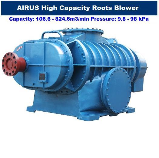 HDL Series Twin Lobe Large Capacity Roots Blower