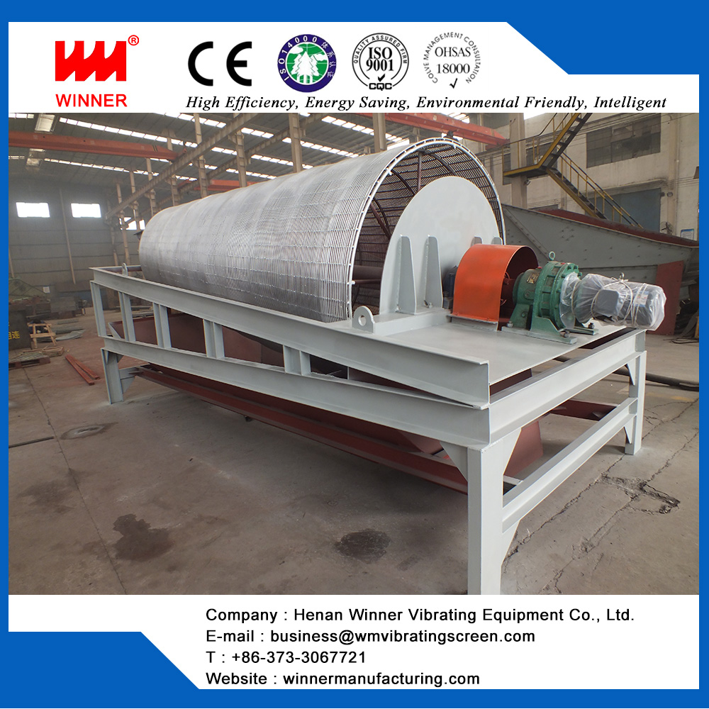 CE Certificate Roller sieve, Trommel Vibrating Screen for waste recycling