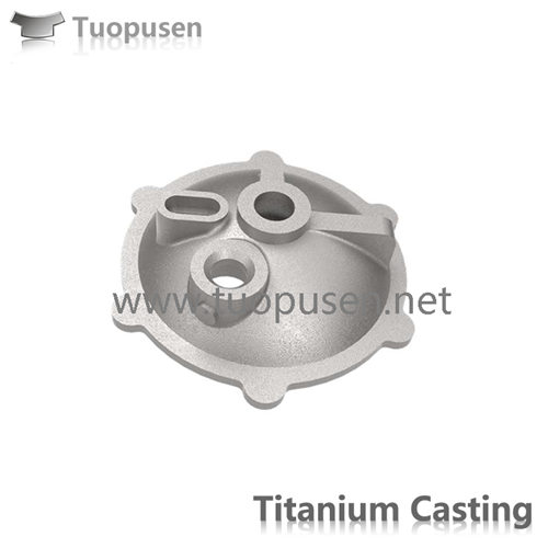 titanium casting parts  in marine