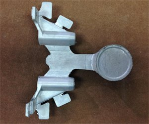 Eco Friendly Zinc Alloy Die Casting Handle STK Z1107